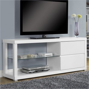 Bufet TV Minimalis Putih Duco