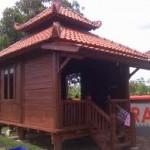 Gazebo Rumah Adat Model Jawa