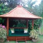 Gazebo Rumah Mewah Ukir