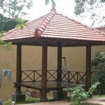 Gazebo Rumah Model Prasmanan Jati