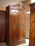 Lemari Pakaian Jati Rahwana 2 Pintu
