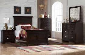 Bedroom Set Black Doff