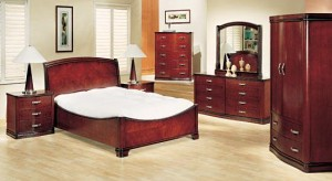 Kamar Set Minimalis Brown Modern