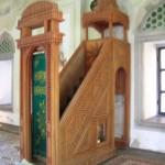 Mimbar Masjid Model Tingkat