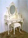 Meja Rias Model Kartini Putih