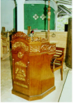 Mimbar Masjid Jati Model Cekung