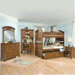 Set Kamar Tidur Jati Untuk Anak