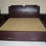 Tempat Tidur Model Laci Minimalis