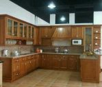 Kitchen Set Jati Minimalis Jepara