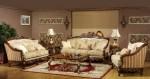 Sofa Tamu Kerang Ukir