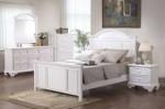Desain Tempat Tidur Set Warna Putih