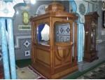 Mimbar Masjid Minimalis Kubah Jati