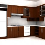 Set Kitchen Jati Simpel Minimalis Mewah