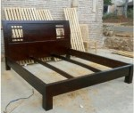 Tempat Tidur Minimalis Model Jati Mewah
