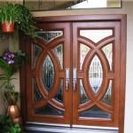 Pintu Rumah Minimalis Jati Bola Terbaru