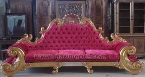 Sofa Colombo Mewah Warna Gold