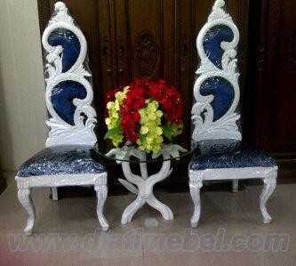 Sofa Teras Ukiran Bunga Cantik