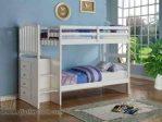 Tempat Tidur Anak Simpel Putih Duco