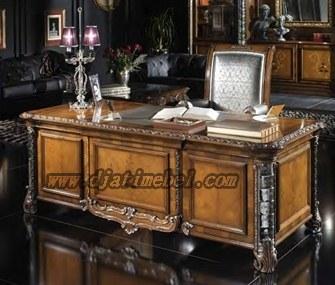 Set Meja Kantor Luxury Klasik