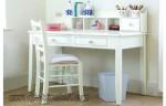 Meja Belajar Anak Minimalis Putih Duco