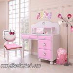 Meja Belajar Anak Hello Kitty Cantik