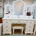 Meja Rias Minimalis Putih Cantik