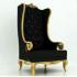 Sofa Santai Princess Gold