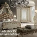 Kamar Set Mewah Putih Gading