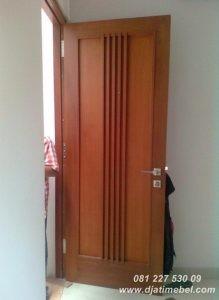 Pintu Kamar Rumah Minimalis Kayu Jati
