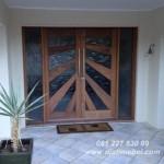 Pintu Rumah Depan Mewah Kayu Jati