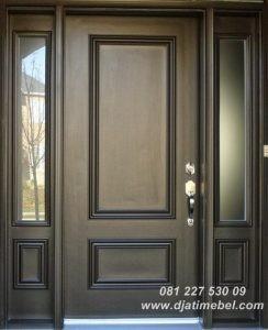 Pintu Rumah Minimalis Jati Doff
