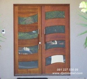 Pintu Rumah Minimalis Kaca Terbaru