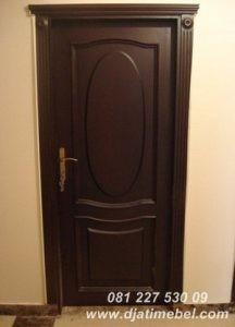 Pintu Rumah Minimalis Oval Modern