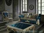 Kursi Sofa Lengkung Ukiran Jepara