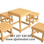 Kursi Meja Makan Untuk Cafe Harga Murah