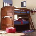 Tempat Tidur Anak Model Susun Jati