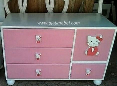 Nakas Laci Model Hello Kitty Anak