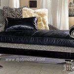 Kursi Sofa Siput Italian Warna Silver