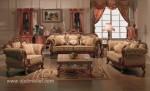 Set Kursi Sofa Tamu Klasik Mewah Eropa