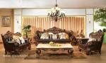 Set Sofa Ruang Tamu Mewah Klasik Italian