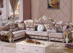 Set Sofa Tamu Klasik Eropa Mewah