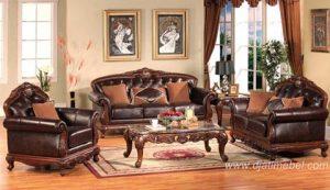 Set Sofa Tamu Klasik Mewah Maroco