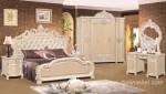 Set Tempat Tidur Ukiran Kerang Mewah Duco