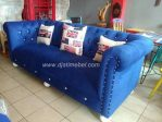 Sofa Chester Warna Biru Klasik