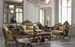 Sofa Tamu Klasik Mewah Terbaru Acme