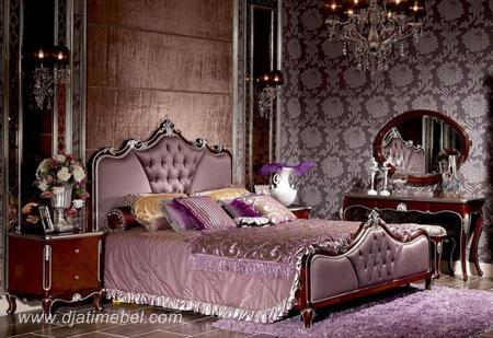 Tempat Tidur Mewah Ukiran Silver
