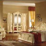 Tempat Tidur Set Klasik Eropa Mewah Duco