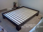 Tempat Tidur Minimalis Black Doff