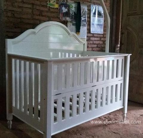 Box Bayi Minimalis Cantik Warna Putih