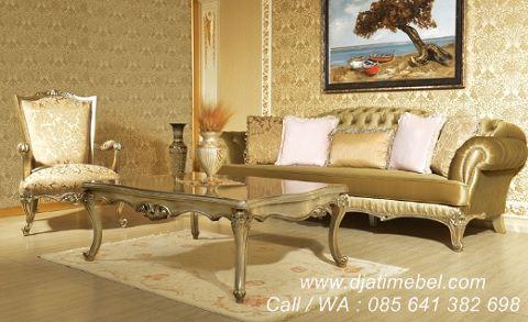 Set Sofa Tamu Klasik Arya Modern